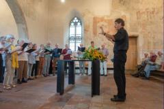 2018_09_15  15_29_25  Chor.02 Reise 2018 _Konzert Kirche Scherzligen _Chorleiter Joseph Bisig