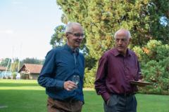2018_09_15  16_21_44  Chor.02 Reise 2018 _ Kirche Scherzligen _Die Präsidenten Andreas Gund und Markus Pfenninger